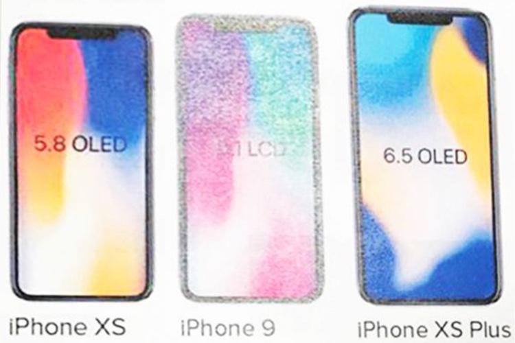 Rumeur : un «iPhone9» et des «iPhoneXS» à la rentrée?