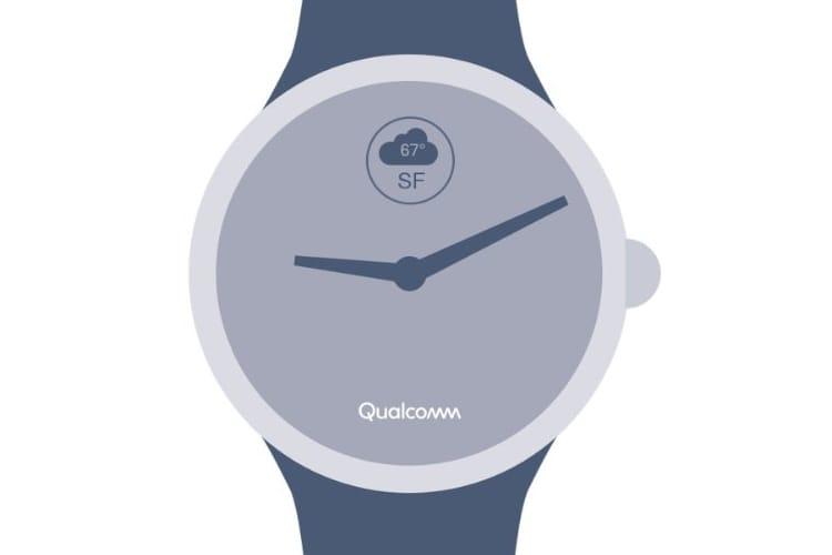 Qualcomm présentera son nouveau processeur pour montres connectées en septembre