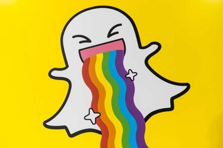 Une partie du code source de Snapchat accidentellement sur GitHub