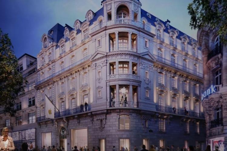 Apple Store des Champs Élysées : 250000€ pour faire avancer les travaux