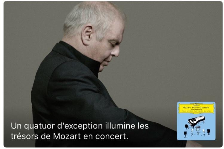 Deutsche Grammophon s'occupe du Classique dans Apple Music