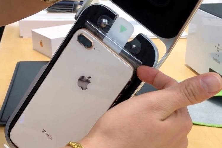 La pose de films sur iPhone en Apple Store est une bonneaffaire pour Belkin