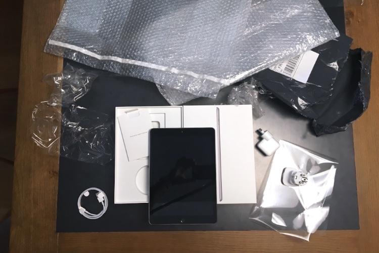 Un iPad 6 à 284€ sur eBay, ça donne quoi à l'arrivée?