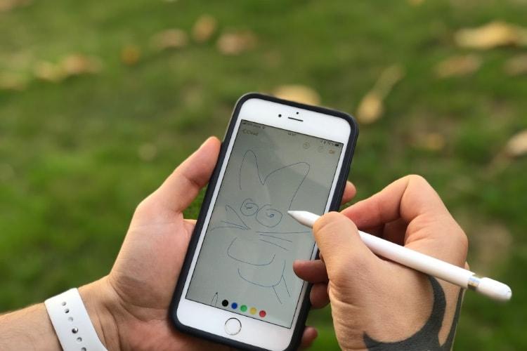 Nouvelle rumeur de compatibilité Apple Pencil pour les iPhone X 2018