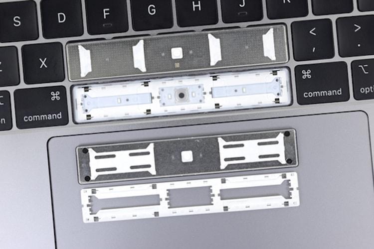 Des problèmes de barre espace sur des MacBook Pro 2018