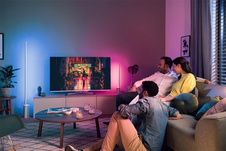 Signal et Play, des barres lumineuses Philips Hue pour la maison