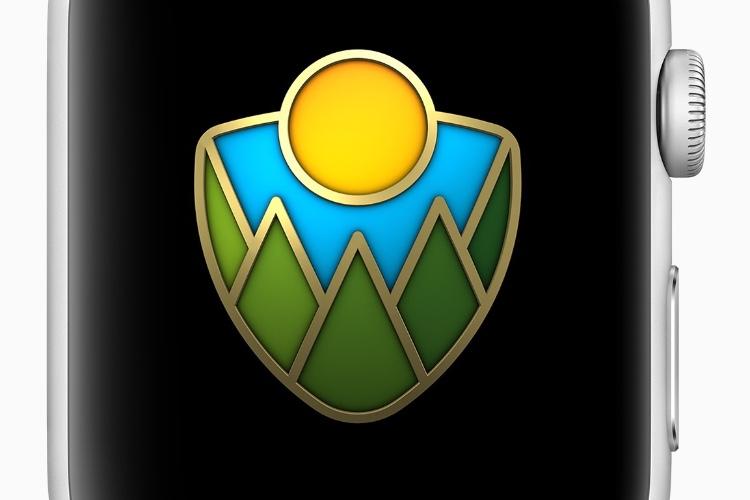 Apple Watch : un trophée et des autocollants pour la journée des parcs nationaux