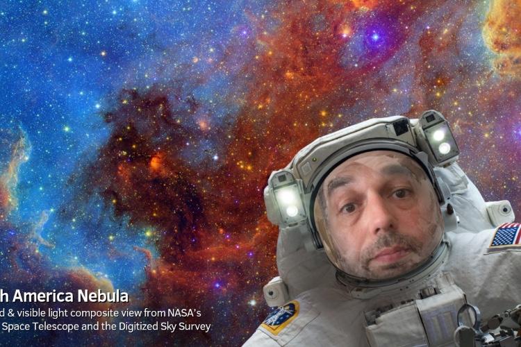 image en galerie : Une app de la NASA pour des selfies dans l'espace