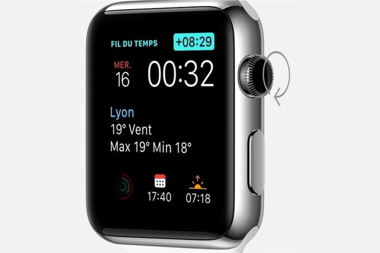watchOS 5 ne remonte plus le fil du temps