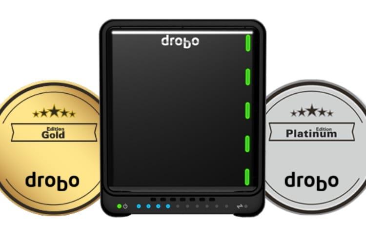 Gold Edition : des Drobo en or pour les utilisateurs européens