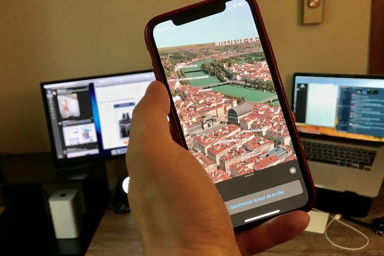 Apple veut intégrer de la réalité augmentée dans Plans