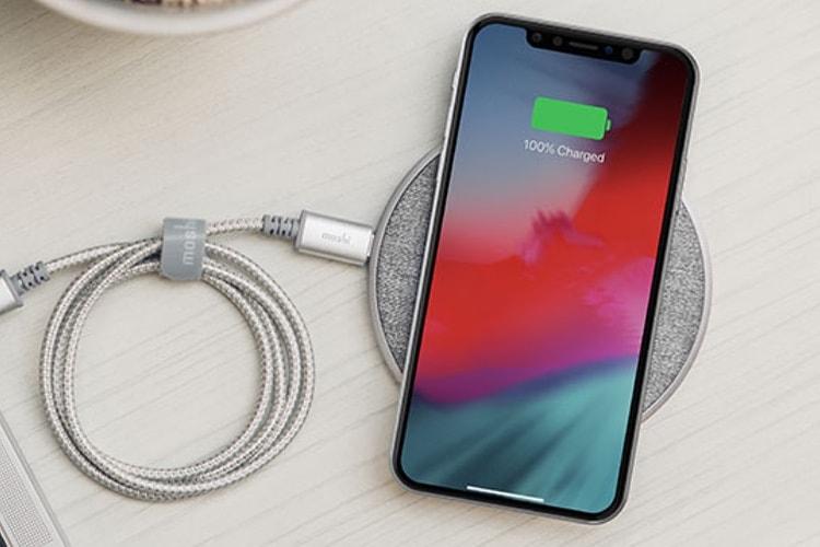 Moshi: un chargeur sans fil Otto Q pour iPhone X et autres