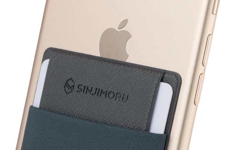 Une pochette au dos de votre iPhone pour y ranger des cartes