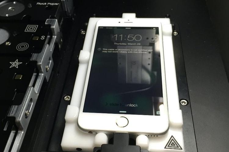 Réparation d'écrans d'iPhone: Apple partage sa machine avec des centres de services agréés