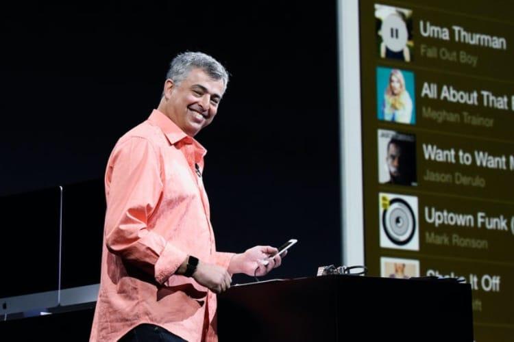 Le roupilleur Eddy Cue, torpilleur de Siri et Apple Music