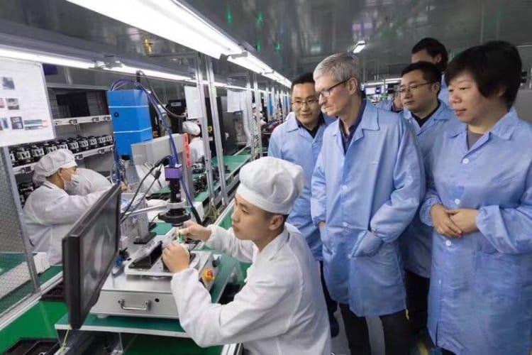 Guerre commerciale : l'Apple Watch, le HomePod, les AirPods et le Pencil parmi les possibles produits taxés