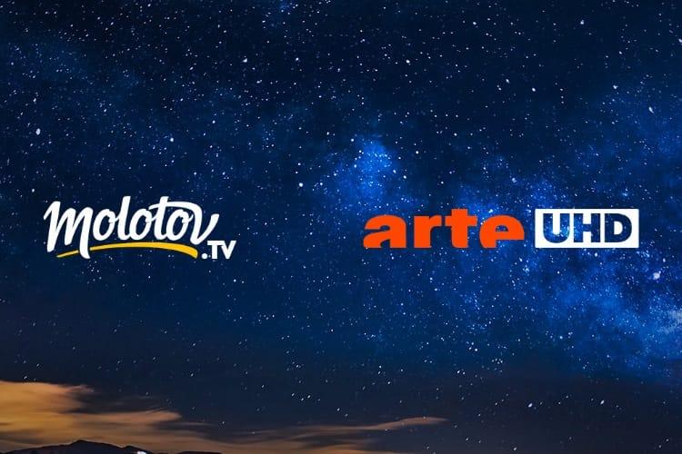 Molotov diffuse gratuitement Arte UHD en 4K HDR pendant dix jours