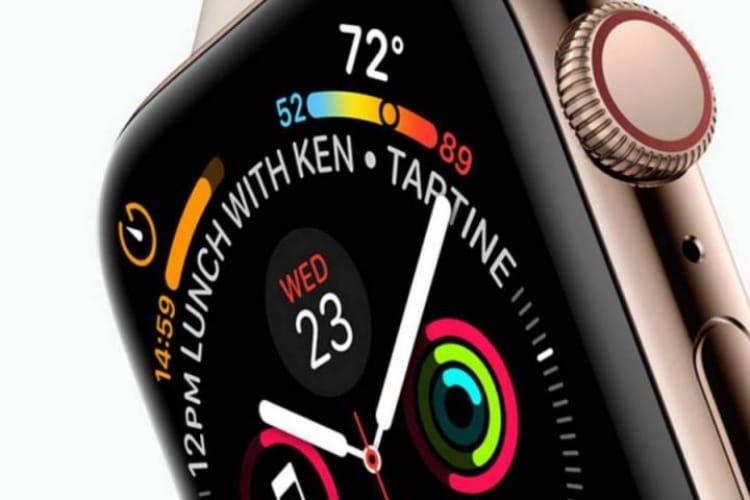 Les boîtiers des nouvelles Apple Watch seront plus grands (40 et 44 mm)