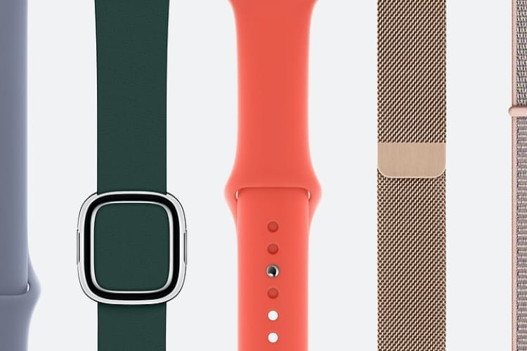 Nouveaux coloris pour les bracelets Apple Watch !