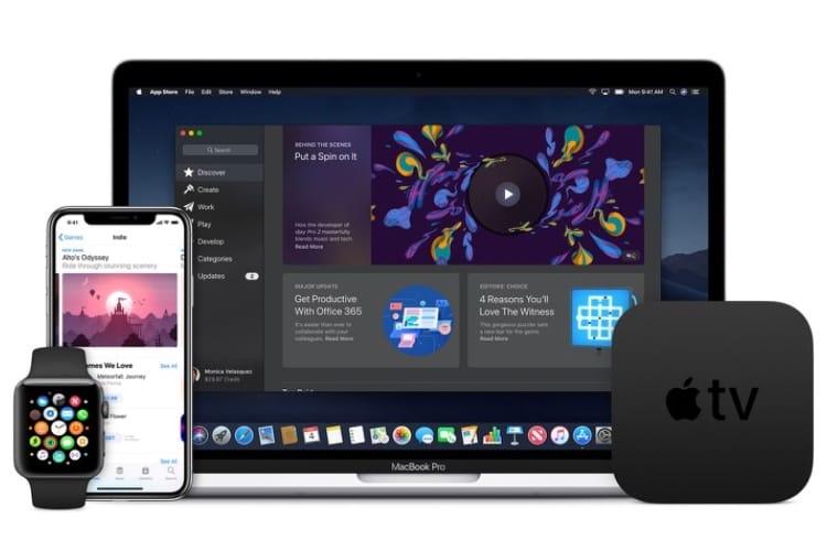 En mars 2019, les apps devront être développées avec les derniers SDK et supporter les nouveaux appareils