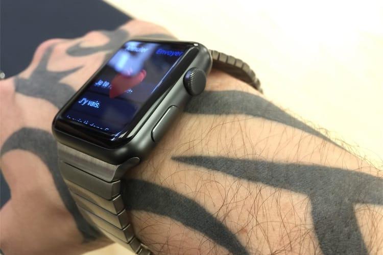 Sur l'Apple Store, des bracelets à maillons beaucoup moins chers