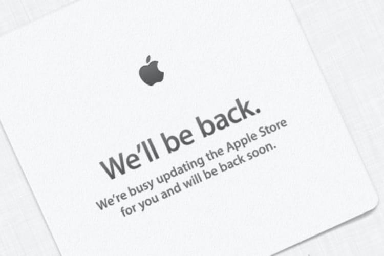L'Apple Store fermé pour les précommandes d'iPhone XS/XS Max et d'Apple Watch Series4