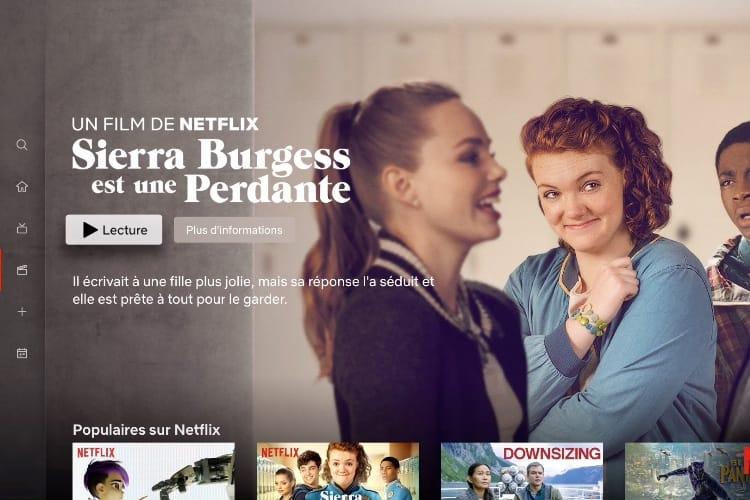 La nouvelle interface de Netflix apparait sur l'Apple TV