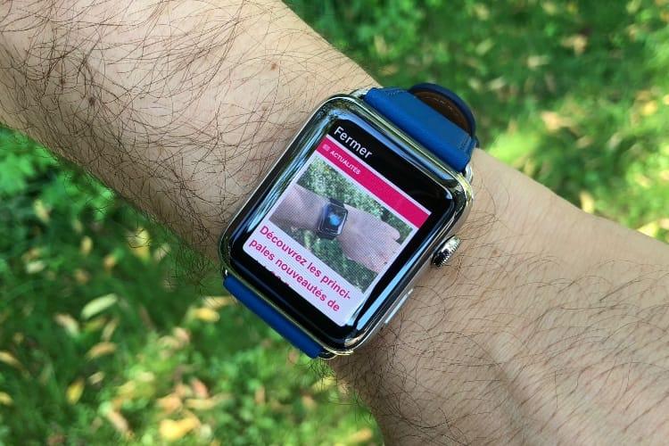 À la bonne heure, la version finale de watchOS 5 est en ligne