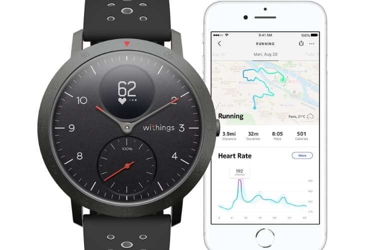 Withings se relance avec une nouvelle Steel HR Sport