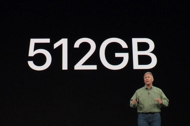 Quelle capacité de stockage pour votre iPhoneXS?