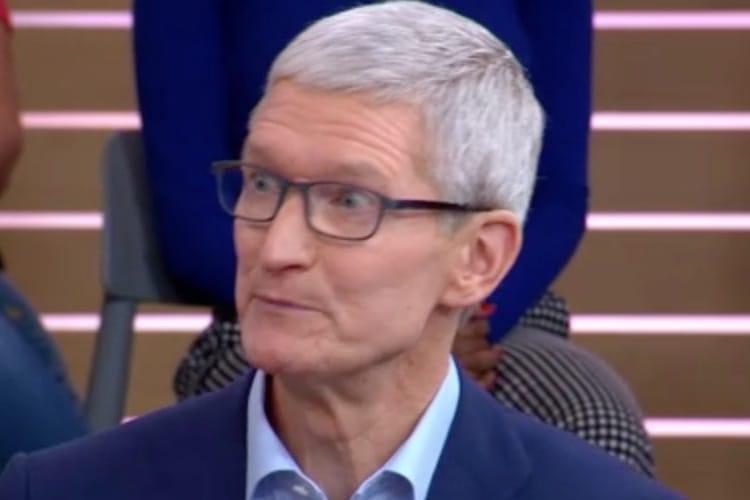 Tim Cook : l'iPhone XS coûte 1$ par jour