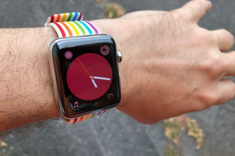watchOS 5.1 donne des couleurs au cadran Couleur 😆