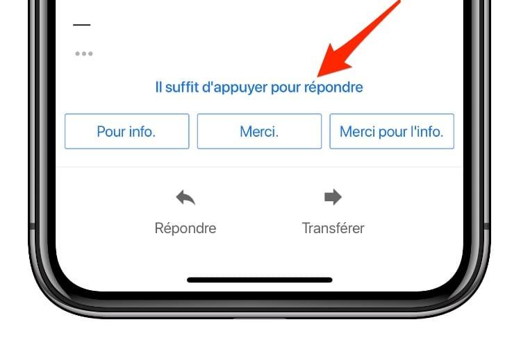 Gmail : les suggestions Smart Reply auraient pu proposer « Envoyé de mon iPhone »