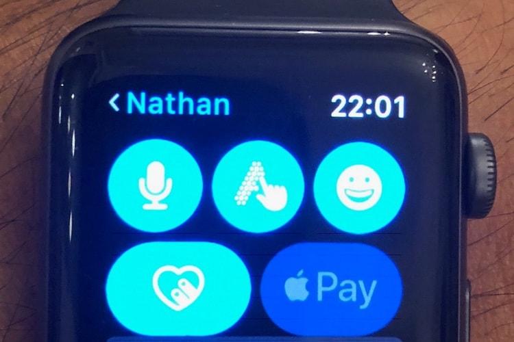 Apple Pay Cash à l'improviste dans watchOS5