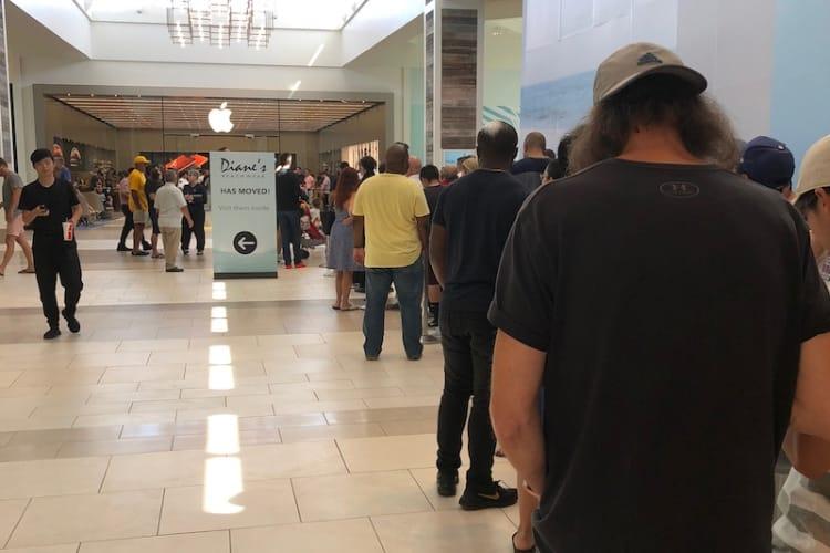 Bug dans les réservations d'iPhone XS ce soir aux États-Unis