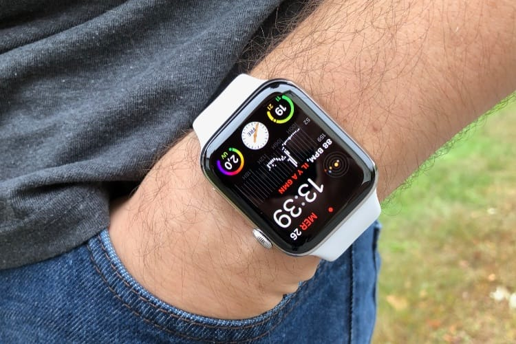 Test de l'Apple Watch Series 4