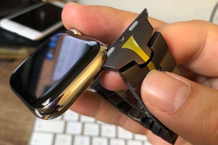 Les bracelets métalliques de Juuk ne sont pas compatibles avec l'Apple Watch Series 4