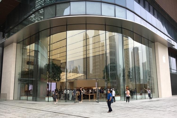 Chroniques numériques de Chine: l'Apple Store de Suzhou, une ouverture… historique
